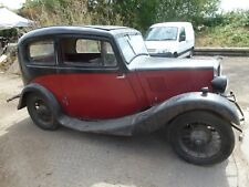 Morris 8 eight 1935 restoration project stored since 1972 barn find no reserve
