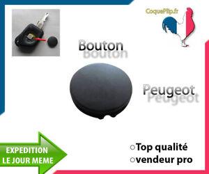 Bouton Pour Clé Plip Peugeot 106 205 206 306 406 caoutchouc
