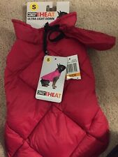 32 Degrees Heat Ultra Light Down Coat For Dogs Small Carmine Red