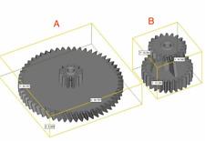 1pc Gear for Grundig RR3000 Radio Recorder Radio Cassette Deck Tape Recorder