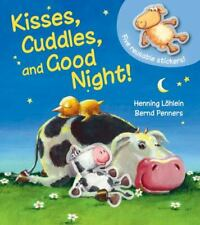 Kisses, Cuddles, and Good Night! by Bernd Penners (2019, Children's Board Books)