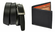 Combo of Black wallet and Black Belt with free shipping