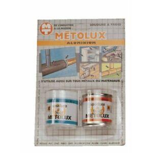 Soudure à froid - aluminium Métolux