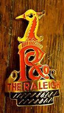 "Raleigh Nottingham vintage  nameplate Silver version. headbadge 2/"" high"
