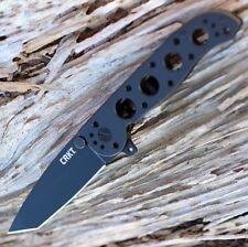 Couteau Tactical CRKT M16 Tanto Lame Acier 12C27 Manche Acier Frame CR02KS