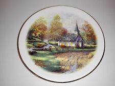 Thomas Kinkade The Aspen Chapel Decorative Collectible Art Painter of Light