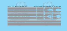 1/64 Scale Semi Seminole Stripe Set Gray Silver Pinstripe DCP Spec cast Tonkin