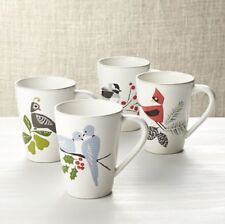 Crate and Barrel Winter Birds Coffee Mugs Multi-Listing Jane Dixon