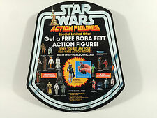 """reproduction star wars prototype 12"""" boba fett figure shop / store bell display"""