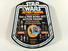 "BRANDNEU Star Wars Prototyp 12"" Boba Fett Figur Shop/Store Bell Display"