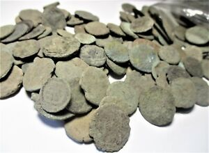 Uncleaned Ancient Coins (10 Coins) Roman 27BC-370AD