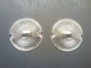 CHEVROLET CHEVY 1953 PARK LIGHT LENSES NEW GLASS GM RESTORATION BEL AIR RAT ROD