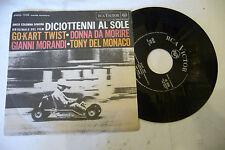 """GIANNI MORANDI""""GO KART TWIST-disco 45 giri RCA 1963"""" OST"""