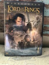 Lord Of The Rings Return Of The King 2 Dvd Widescreen Ed. New Lotr Frodo Gollum