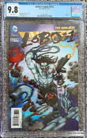 Justice League #23.2 Lobo 3D Lenticular CGC 9.8 Cover DC Comics 2013