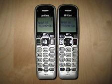 Lot of 2 Uniden D1660-2 1.9 Ghz Cordless Expansion Handset Phone