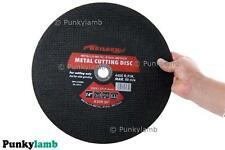 """High Quality 350mm 14"""" inch Metal Cutting Discs for Angle Grinder X 10 Pack"""