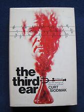 THE THIRD EAR - SIGNED by Author CURT SIODMAK 1st Edition - An E.S.P. Novel