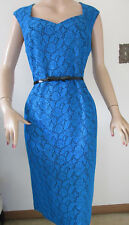JONES STUDIO Blue Dress with Belt Women's Size 10