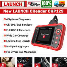 LAUNCH CRP129 Pro Automotive OBDII Diagnostic Scanner 4-Systems Clear Read Codes