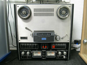 Dokorder 1120 Onkyo Vivanco Tonbandmaschine mit original Nab Bedienungsanleitung