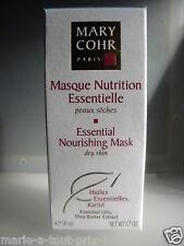 MARY COHR MASQUE NUTRITION ESSENTIELLE peaux sèches ESSENTIAL NOURISHING MASK