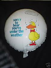 "18"" Under the Weather Get Well Soon Foil Balloon- BL223"