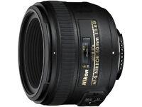 Nikon AF-S NIKKOR 50mm f/1.4G Lens NEW from Japan
