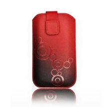 Bolso para Lumia 610 710 800 iPhone 3g 4 4s Samsung s3 mini Ace 2 HTC 8s rojo