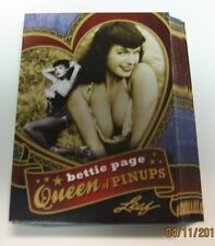2014 LEAF; BETTIE PAGE QUEEN OF PINUPS 16 CARD SET