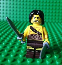 Lego Barbarian Minifig Castle Kingdoms Sword Warrior 71002 Minifigures Series 11