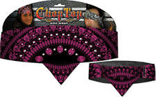 Chop Top: Lady Paisley Magenta w/Rhinestones Doo Rag Casual Head Wrap New