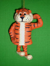 College Treasures Auburn Tigers Porcelain Ornament Bell by Slavic Treasures