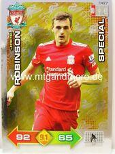 Adrenalyn XL Liverpool FC 11/12 - #067 Jack Robinson - Special