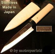NEU japanisches Obst Fisch Messer Holz Ahorn edelstahl