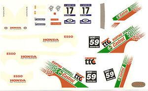 Calca 1/32 Honda Civic Rallye Ourense Circuit 24 Horas