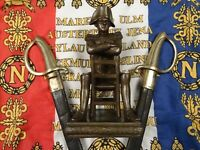 Very Nice French Napoleon Bonaparte Spelter Sculpture 19th Century