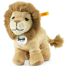 Steiff 'Leo' Lion - classic washable soft toy big cat cub - 16cm - 066658