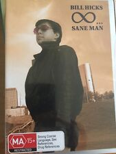 Bill Hicks - Sane Man (DVD, 2006) Free Post!!