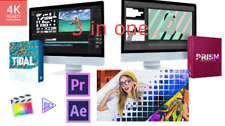 3 in 1 Pack for Premiere Pro, After Effects, Davinci, Final Cut Pro X,Sony Vegas