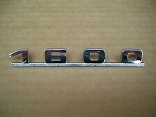 Porsche 356 1600 Emblem Chrome, Outstanding Quality, As Good as OEM Excellent !