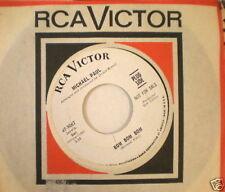 HEAR IT ROCK SOUL Michael Paul RCA DJ 9062 BOM BOM
