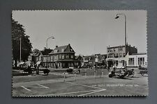R&L Postcard: Holland Netherlands EDE Kruispunt Met Hotel Gea, Bank, Scooter 60s