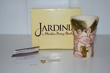 Jardinia Pretty In Pink Vase Flamingo Harmony Kingdom Martin Perry Jalrfm 00004000  Box