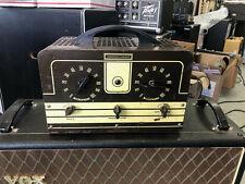 Vintage 1945 Stromberg Carlson Model 200 6L6 tube Guitar amp head serviced!