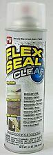 Flex Seal Spray Liquid Rubber Sealant Coating Stop Leaks Wet Dry Clear 14oz