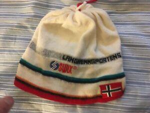 SWIX NORWAY CAP HAT skiing speedskating beanie winter sports kongsberg