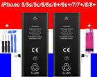 BATTERIE INTERNE NEUVE COMPATIBLE POUR IPHONE 5 5S 5C 5 SE 6 6S 7 8 PLUS X XS XR <br/> QUALITÉ PREMIUM AAA+ , SATISFAIT OU REMBOURSÉ 30 JOURS