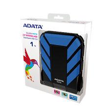 """BRAND NEW ADATA HD710 2.5"""" External Portable USB 3.0 Hard Drive HDD 1TB BLUE"""