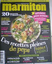 MARMITON N° 28 Magazine cuisine